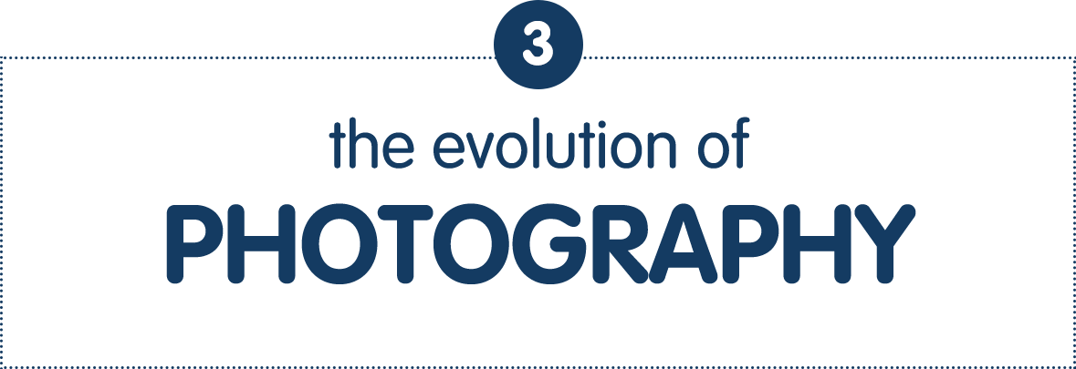 3) The Evolution of Photography