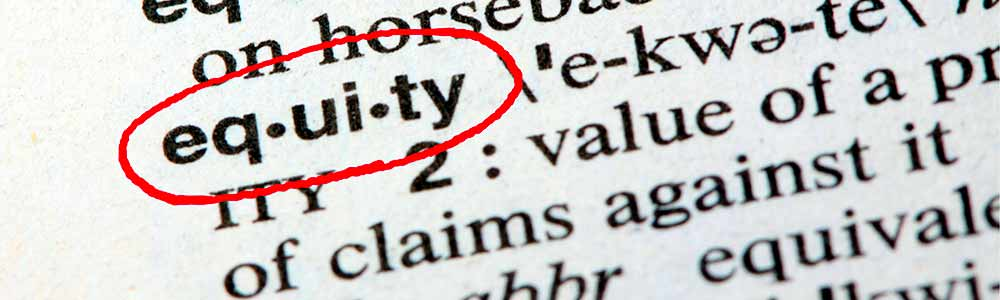 Equity term in a dictionary