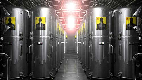cryonic preservation tanks