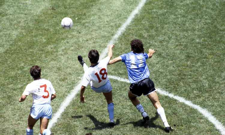 Diego Maradona and the 'hand of god' goal in the 1986 World Cup