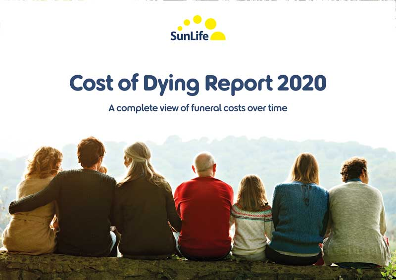 Cost of dying report 2020 cover